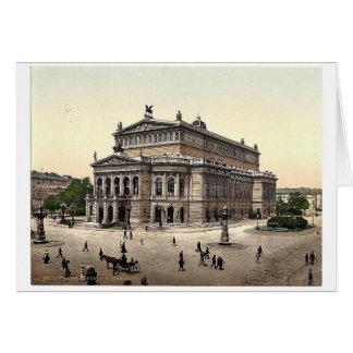 Opernhaus, Frankfort auf Hauptleitung (d.h. Karte