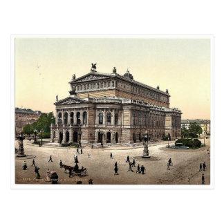 Opernhaus, Frankfort auf Hauptleitung (d.h. Postkarte