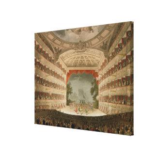 Opernhaus König-Theatre Leinwand Drucke