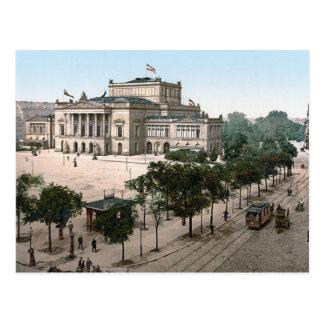 Opernhaus, Opernhaus, Leipzig, Deutschland Postkarte