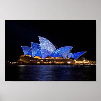 Opernhaus Sydney Australien Poster