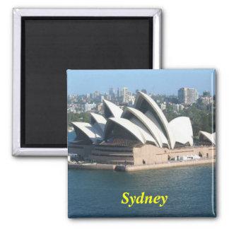 Opernhausmagnet Sydneys Australien Quadratischer Magnet