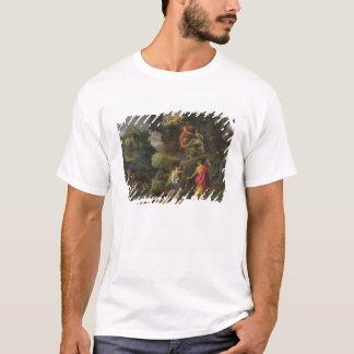 Opfer von Isaac, 1601 (Öl auf Platte) T-Shirt