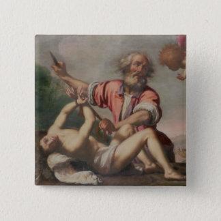 Opfer von Isaac Quadratischer Button 5,1 Cm
