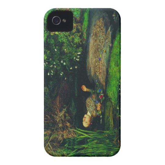 Ophelia by Sir John Everett Millais iPhone 4 Hüllen