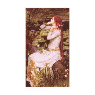Ophelia durch John William Waterhouse Leinwanddruck