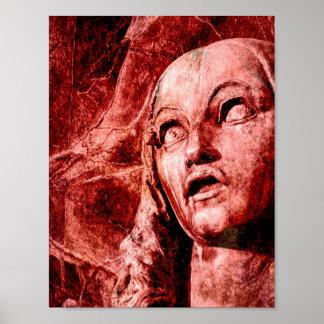 Ophelia-Plakat des Wahnsinn-(Seies) (Hamlet) Poster