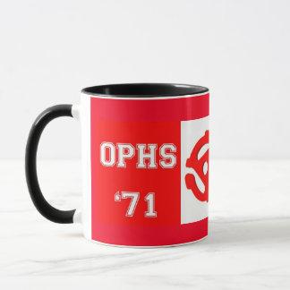 OPHS '71 45rpm 11 Unze-Wecker-Tasse Tasse