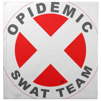 Opidemic SWAT-Team Stoffserviette