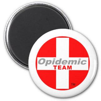 Opidemic Team Runder Magnet 5,7 Cm