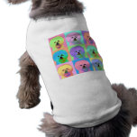 OPkunst - Bichon Frise Ärmelfreies Hunde-Shirt