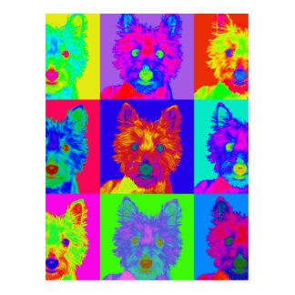 OPkunst - Westhochland Terrier Postkarten