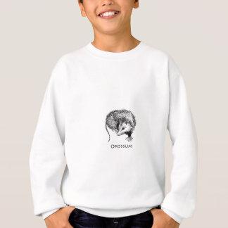 Opossum (Linie Kunst) Sweatshirt