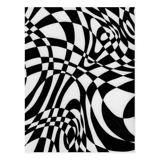 Optik#1 durch Michael Moffa c1991 Postkarten