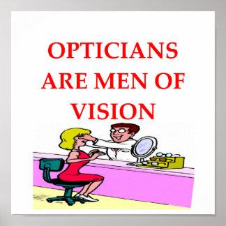 Optiker Poster
