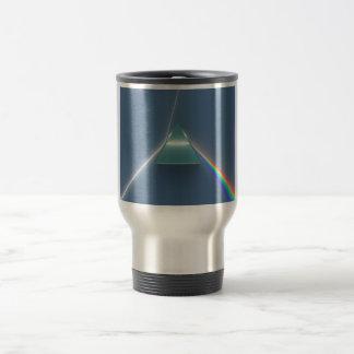 Optikprisma-brechendes und reflektierendes Licht Reisebecher