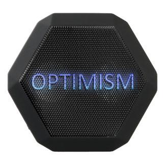 Optimismuskonzept Schwarze Bluetooth Lautsprecher