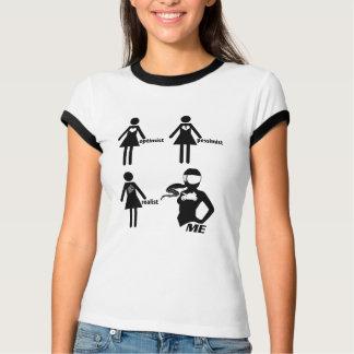 Optimist • Pessimist • Realist • ICH!! T-Shirt