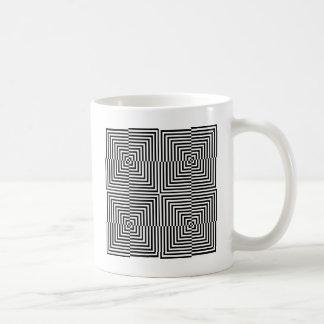 Optische Täuschung für hypnotherapy Kaffeetasse
