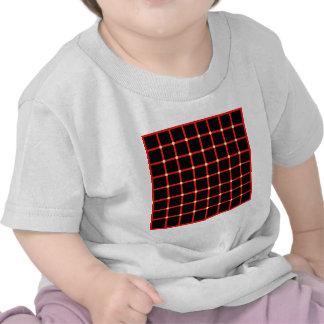 Optische Täuschung mit gelben Punkten Hemden