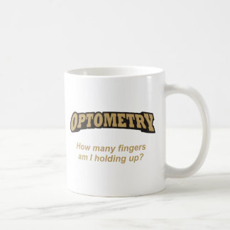 Optometrie/Finger Kaffeetasse