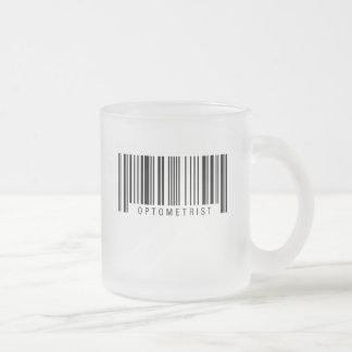 Optometriker-Barcode Mattglastasse