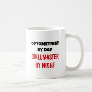 Optometriker bis zum Tag Grillmaster bis zum Nacht Kaffeetasse