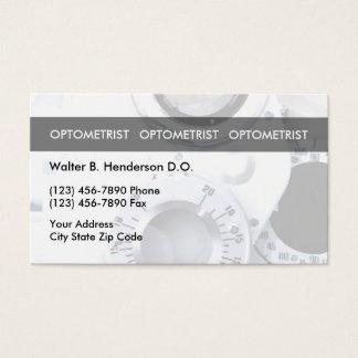 Optometriker-einzigartige Visitenkarten