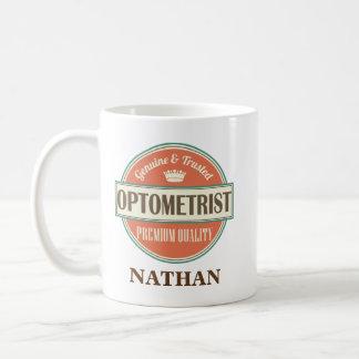 Optometriker-personalisiertes Büro-Tassen-Geschenk Kaffeetasse