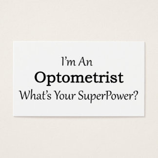 Optometriker Visitenkarte