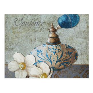 Opulente Parfüm-Postkarte Postkarten