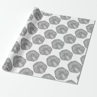 Orang-Utan Affe-T-Stück - Geschenkpapier