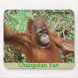 Orang-Utan Fan-wild lebende Tiere Mousepad