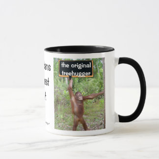 Orang-Utan Treehugger Tasse