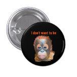Orang-Utan wild lebende Tiere Buttons