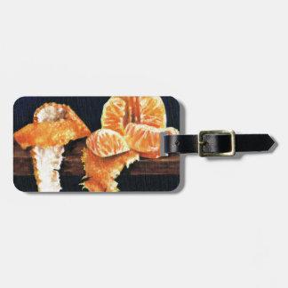 Orange, abgezogen kofferanhänger