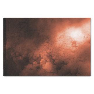Orange abstraktes Seidenpapier