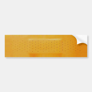 Orange Band-HilfeAutoaufkleber Autoaufkleber