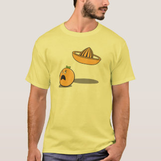 Orange Betrieb vom Juicer T-Shirt