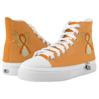 Orange Bewusstseins-Band-Engel fertigen Schuhe