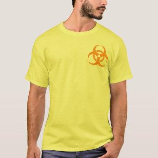 Orange Biogefährdung T-Shirt