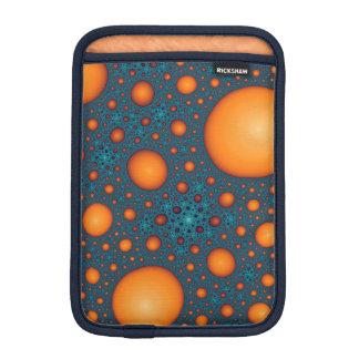 Orange Blasen iPad Mini Sleeve