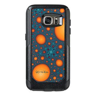 Orange Blasen OtterBox Samsung Galaxy S7 Hülle