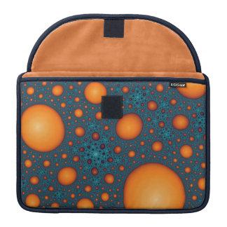 Orange Blasen Sleeve Für MacBooks