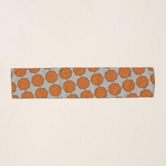 Orange Blumen-Band durch Kenneth Yoncich Schal