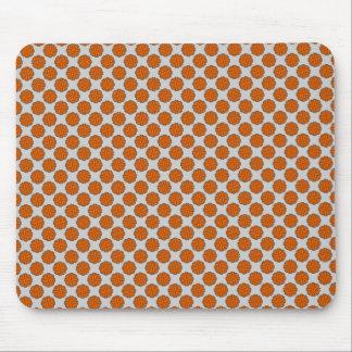 Orange Blumen-Band Mauspads