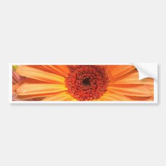 Orange Blumenstrauß-Blume Autoaufkleber