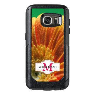 Orange Blüte mit den bunten Blumenblättern OtterBox Samsung Galaxy S7 Hülle