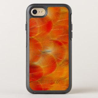 Orange Camelot Macaw-Federn OtterBox Symmetry iPhone 8/7 Hülle