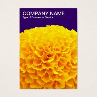 Orange Chrysantheme - Deep Purple Visitenkarte
